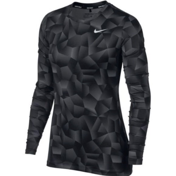 9b69e7d0fe3c NEW Nike Dry Women s Golf Top Shadow Gradient
